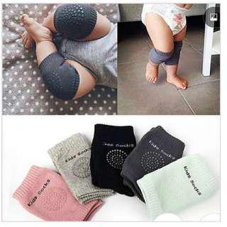 🚚 Baby Crawling Knee Pads Protector                        - Anti-slip Kneepad