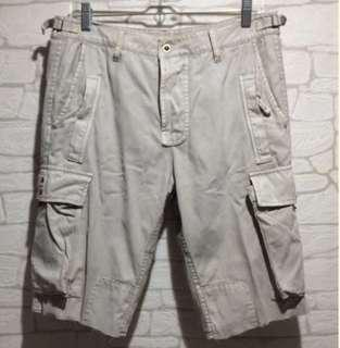 100% Authentic GUESS?JEANS 8 Pocket Cargo Bermuda