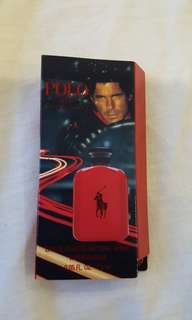 Polo Ralph Lauren Red edt perfume sample 1.5 ml