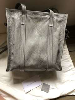 🈹️$4600!!balenciaga bazar shopper s tote bag (grey)