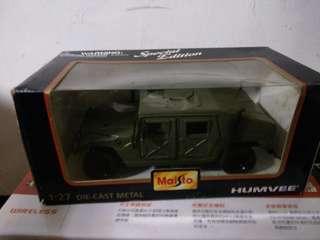🚚 軍用悍馬模型車