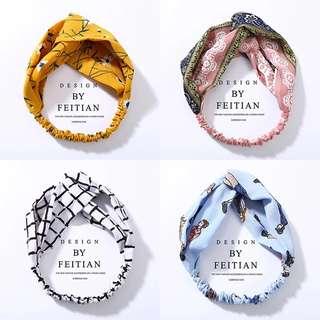 Fashionable elastic headbands