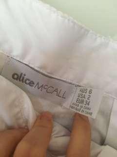 名牌aliceMcCall 美人魚有彈性長裙(全新未著)靚料設計