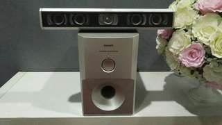 Philips powered subwoofer.