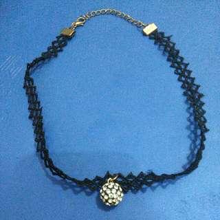 Kalung Choker Bola Blink Blink Necklace