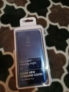 Clear  View Standing Cover - Hwawei Mate 9 Pro