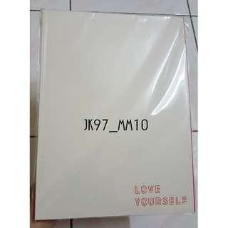 [WTS] BTS LOVE YOURSELF TOUR SEOUL OFFICIAL PROGRAM BOOK