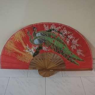 Big Peacock Fan