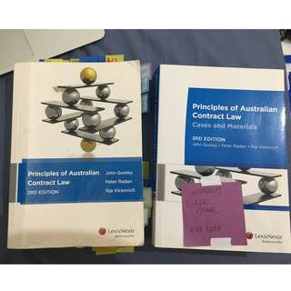 Principles of Australian Contract Law + Case Book (3rd Edition)