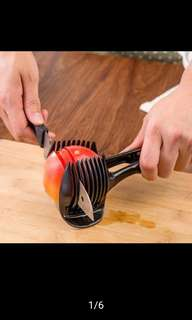 Kitchen good helper working tool tomato slicer,onion potato and fruit slicer