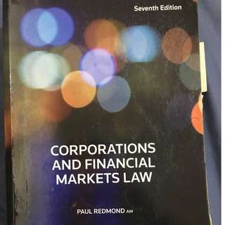 Corporations and Financial Markets Law 7th Edition