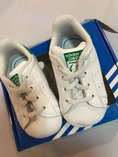 Adidas Stan Smith Baby Crib Shoes