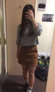 Cute brown skirt