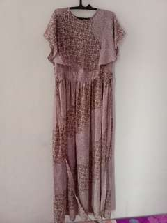 Dress panjang chifon