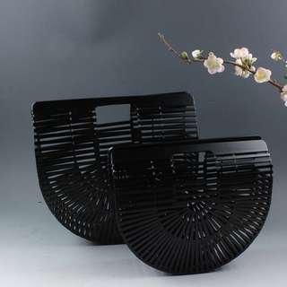 Rattan Bag (Black)