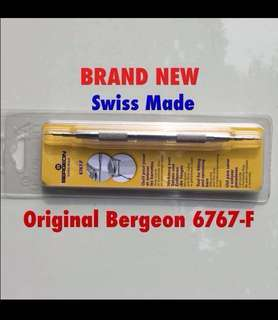 Sold out ! Brand New Bergeon 6767-F spring bar Tool swiss made limited stocks