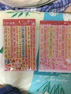 日本和風貼紙