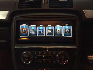 """Mercedes R Class👉2008 Installed Android 10.2"""" Plug N Play & 10.1""""HD Digital TFT Screen"""