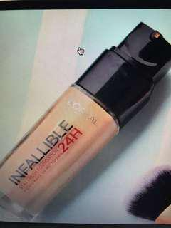 BN Loreal liquid foundation