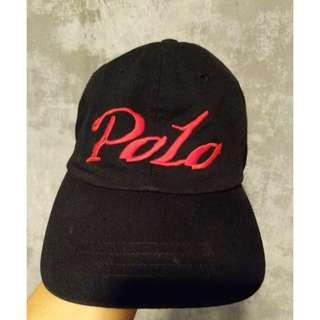 Black 90s Polo Ralph Lauren Cap