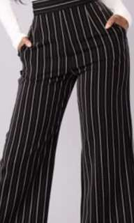 Trendy Striped Culottes