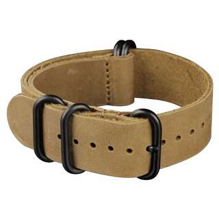 22mm leather watch band strap