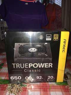 全新未開 Antec TRUEPOWER Classic 650W (80PLUS Gold)