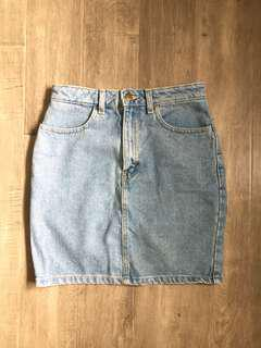 AA Denim Skirt