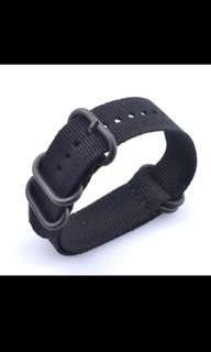 22mm nylon watch band strap