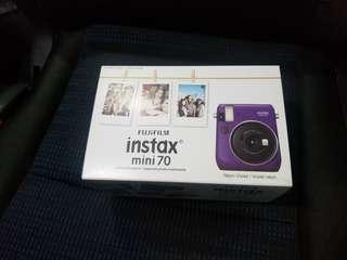 Fujifilm Instax Mini 70 紫色 purple