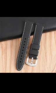 20mm silicon watch band strap