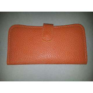Orange Color Wallet