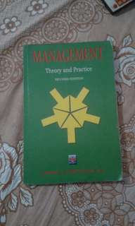 MANAGEMENT (Theory and Practice)