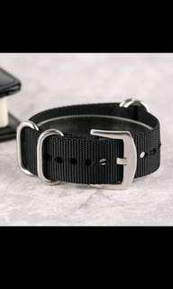 20mm nylon watch band strap