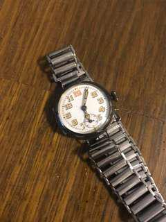 Vintage 1910-20s Watch with porcelain dial