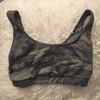 Fashionnova army crop top