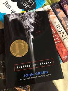 AUTOGRAPHED John Green Looking for Alaska Hardcover
