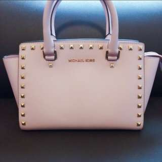 [🏅Cheapest 超靚的粉♧] Michael Kors Two-way Pink Bag