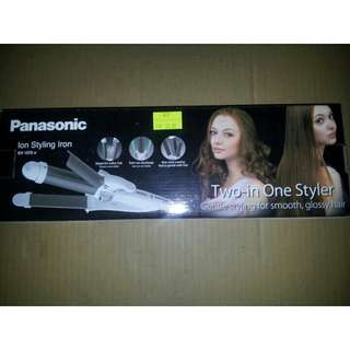 Panasonic Ion Styling Iron Two In One Styler