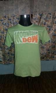 Tshirt Mountain Dew