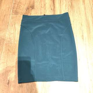 🚚 F21 emerald jade pencil skirt