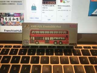 Tiny 微影 九巴丹尼士 E500 MMC Facelift 12 米 @ 60M (包郵)