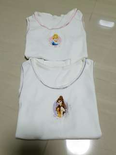 Disney Princess Girl Singlets