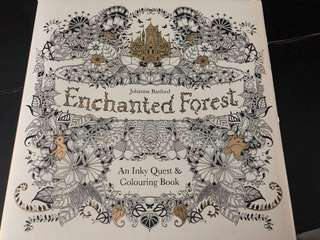 Enchanted Forest Colouring Book 森林填色圖冊