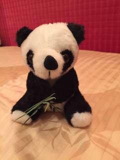 可愛熊貓公仔
