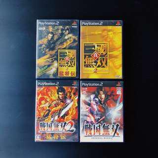 Playstation PS2 Shin Sangoku Musou , Sengoku Musou