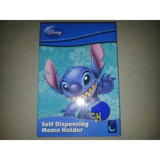 Disney Stitch Self Dispensing Memo Holder
