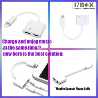 🚚 Adapter  for iPhone 7/8/X Lightning to 3.5mm