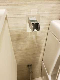 No-drill Spray Head Bidet Shower Holder Gel Adhesive Bracket