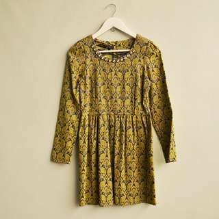 TWENTY ZERO Brocade Dress